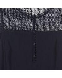 S.oliver - Adika Women's Dress In Blue - Lyst