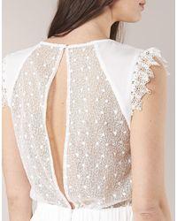 Betty London - Iloveyou Women's Long Dress In White - Lyst