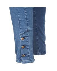 Acquaverde - Alfie Women's Skinny Jeans In Blue - Lyst
