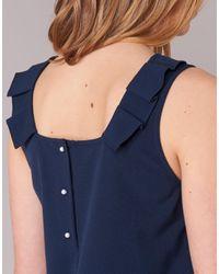 See U Soon - 7122003 Women's Dress In Blue - Lyst