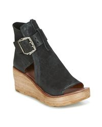 Airstep / A.S.98 - Noa Women's Sandals In Black - Lyst