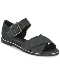 Shellys London - Queena Women's Sandals In Black - Lyst
