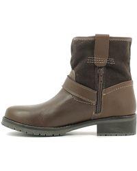 Wrangler - Wl162541 Ankle Boots Women Dark Brown Women's Mid Boots In Brown - Lyst