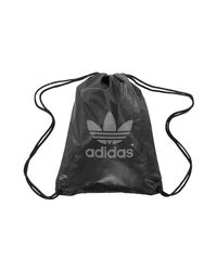 c4ea0bbb728b adidas Gymsack Metal Silver Men s Backpack In Black in Black for Men ...