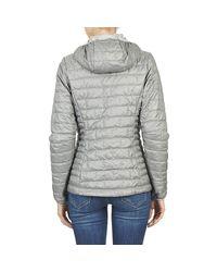 Patagonia - Gray W's Nano Puff Hoody Women's Jacket In Grey - Lyst