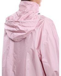 Prada Pink Nylon Piuma K-way