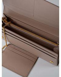 Prada - Multicolor Saffiano Shine Continental Wallet - Lyst