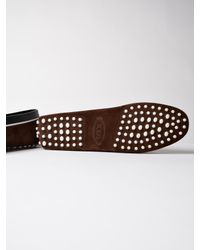 Tod's - Brown Gommini Matel. Doppia T for Men - Lyst
