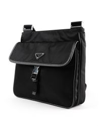 Prada - Black Crossbody Tessuto Montagna for Men - Lyst
