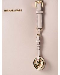 Michael Kors - Pink Jet Set Travel Md Tz Mult Funt Tote - Lyst