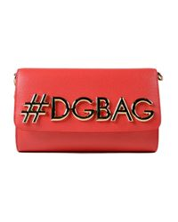 60d11bea983e Lyst - Dolce   Gabbana St.dauphine Shoulder Bag in Red