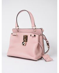 Valentino - Pink W Small Handle Bag - Lyst