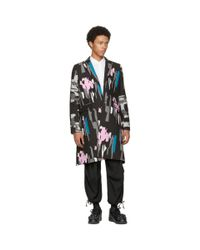 Comme des Garçons - Multicolor Pigment Print Coat for Men - Lyst