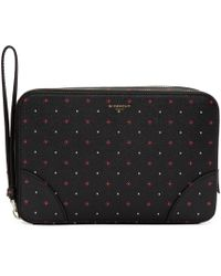 Givenchy | Black Printed Travel Case | Lyst