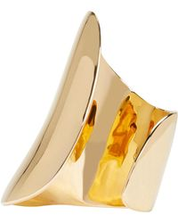 Maiyet - Metallic Gold Large Asymmetric Cuff - Lyst