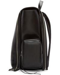 Hood By Air - Pink Black Leather Deb Zip Backpack - Lyst