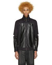 Hood By Air - Black Poplin Hole Shirt for Men - Lyst