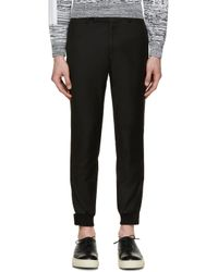 D by D | Black Slim Trousers for Men | Lyst