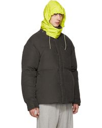 Acne Studios - Green Down Plus Jacket for Men - Lyst