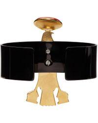 Givenchy - Black Falcon Cuff - Lyst