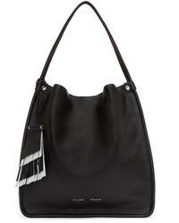 Proenza Schouler - Black Medium Leather Tote - Lyst