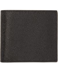 Thom Browne | Black Leather Wallet for Men | Lyst