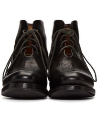 Cherevichkiotvichki - Black One-piece Goodyear Boots - Lyst