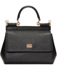Dolce & Gabbana | Black Small Miss Sicily Bag | Lyst