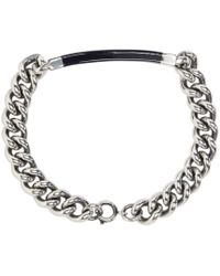 A.P.C. | Metallic Silver Poole Bracelet for Men | Lyst