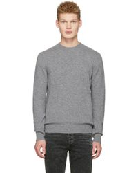 A.P.C. | Gray Grey Submarine Sweater for Men | Lyst