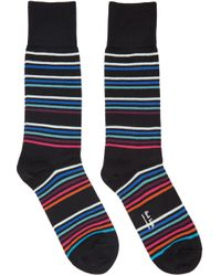 Paul Smith | Black Mondo Multo Socks for Men | Lyst