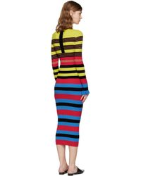 Opening Ceremony | Multicolor Striped Dress | Lyst