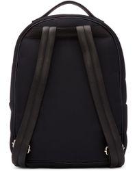 Giuseppe Zanotti Black Savoca Backpack for men