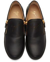 Giuseppe Zanotti - Black Brek Sneakers for Men - Lyst