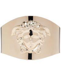 Versace | Metallic Gold Medusa Cuff Bracelet | Lyst