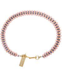 Isabel Marant | Pink Beaded Aston Bracelet | Lyst