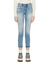 AMO | Blue Babe Jeans | Lyst