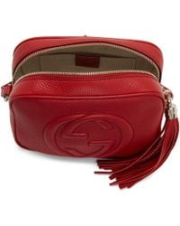 Gucci - Red Small Soho Camera Bag - Lyst