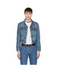 Vetements - Blue Levi's Edition Reworked Denim Jacket for Men - Lyst