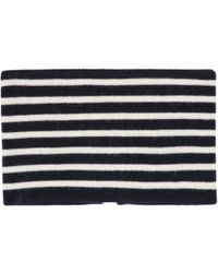 J.W. Anderson - Blue Navy And White Striped Neckband for Men - Lyst