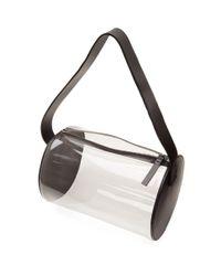 Building Block - Ssense Exclusive Black And Transparent Pvc Barrel Bag - Lyst