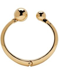 Chloé - Metallic Gold Oma Pearl Bracelet - Lyst