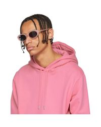 ROBERI AND FRAUD - Pink Betty Sunglasses for Men - Lyst