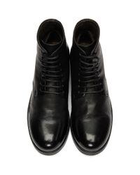 Marsèll - Black Zucca Zeppa Boots - Lyst