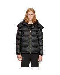 Moncler - Black Down Pascal Jacket for Men - Lyst