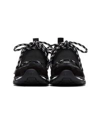 Givenchy - Black Hybrid Trainer Sneakers for Men - Lyst