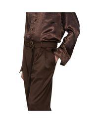 Sies Marjan - Brown ブラウン ウール Andy トラウザーズ for Men - Lyst