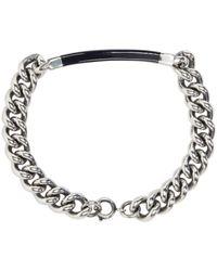 A.P.C. - Metallic Silver Poole Bracelet for Men - Lyst