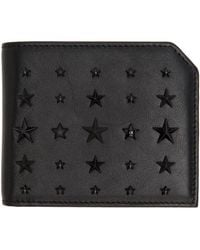 Jimmy Choo | Black Mixed Stars Albany Wallet for Men | Lyst