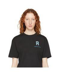 Ribeyron - Black ブラック シングル オーバル フェルト ピアス - Lyst